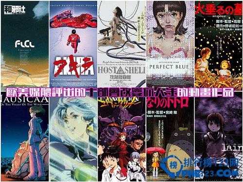 欧美媒体评出的十部改变人生的日本动画作品