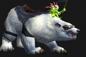 魔兽世界十大稀有坐骑盘点:暴雪巨熊第二