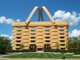 世界上最奇特的建筑,外形像篮子和钻石的楼