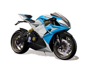 世界上最快的電動摩托車,LS-218摩托車里的高富帥(350公里/小時)