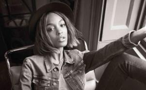 世界第一美女:英国超模卓丹·邓(首位为Prada走秀的黑人模特)