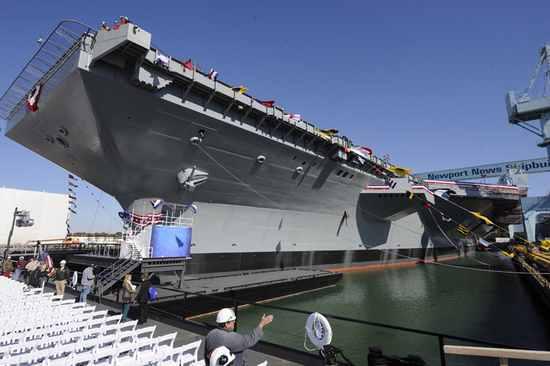 世界上最大的航母有多大?福特号造价150亿美元