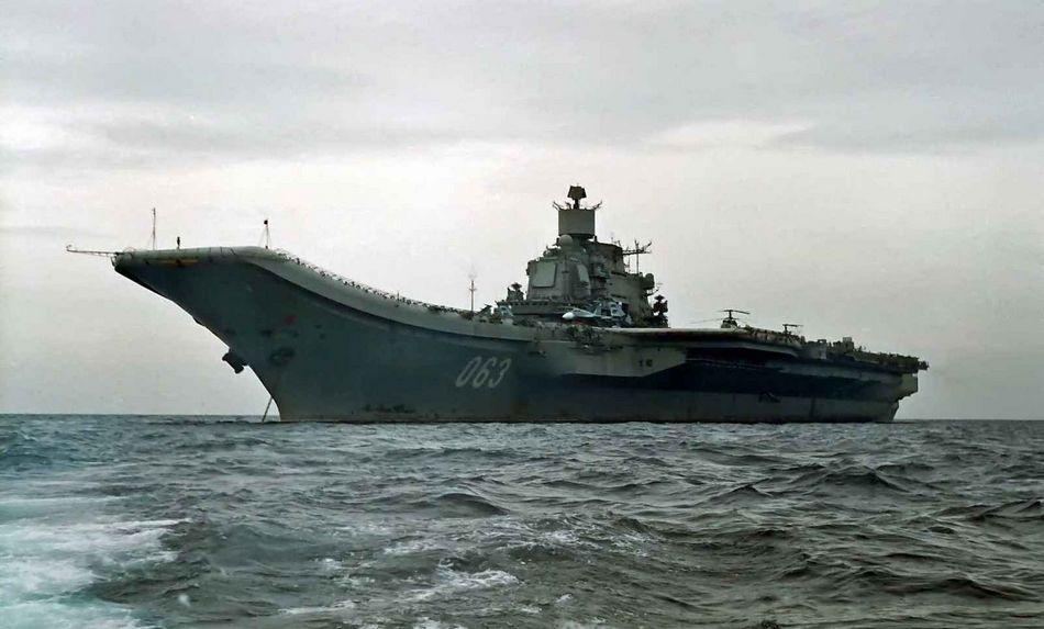 俄羅斯有多少艘航母?俄羅斯航母數量爲1台