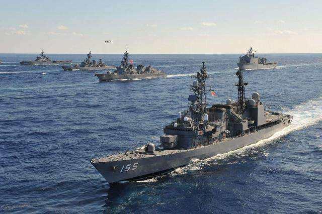 日本的航母数量为0,日本有5艘准航母
