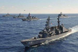 日本的航母數量爲0,日本有5艘准航母