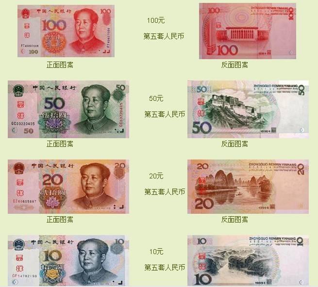 最新2017第五套人民币旧币回收价格表排行榜,99版人民币价值8000元