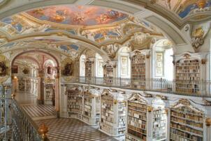 世界十大最美图书馆 仿佛置身天堂升华灵魂