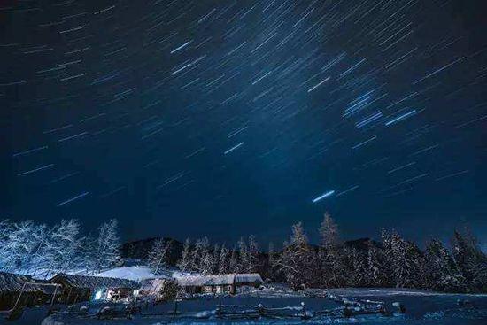 狮子座流星雨2017年11月18日极大时刻表