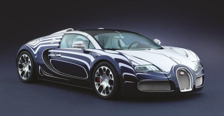 世界十大豪华车排行榜,白金陶瓷布加迪威航闪瞎双眼