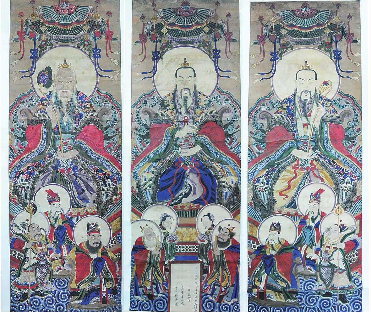 中国神仙排名:一尊二祖三清四御五老分别是谁?