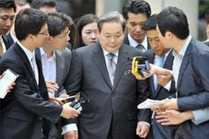 福布斯亚洲富豪家族排行榜 三星李秉喆家族资产296亿美元