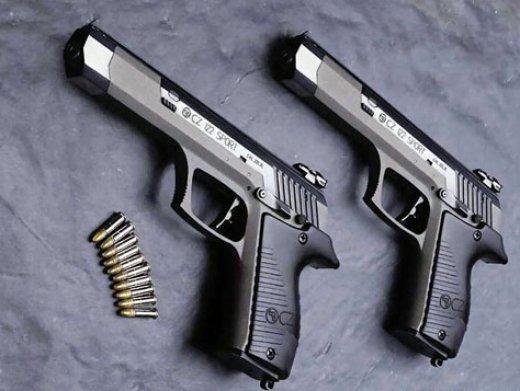 手枪性能排行榜(出膛速度、射程)