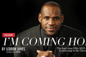 热门新闻排行榜 詹姆斯重回克利夫兰