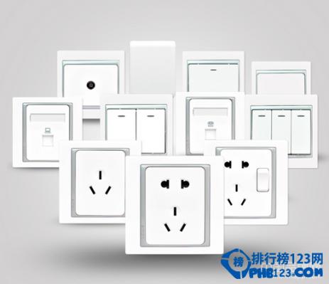 2014十大开关插座品牌