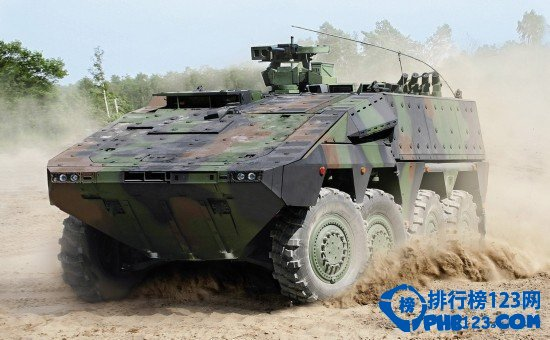 世界十大轮式装甲车