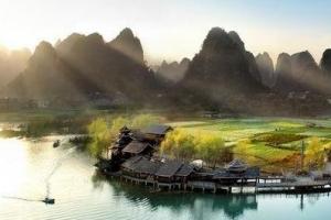 2014中国30个最美丽县排行榜