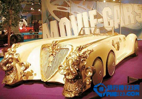 【图】世界豪车排名及价格,劳斯莱斯银魅15.5亿元位居第二