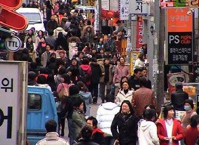 韩国人口数量2016