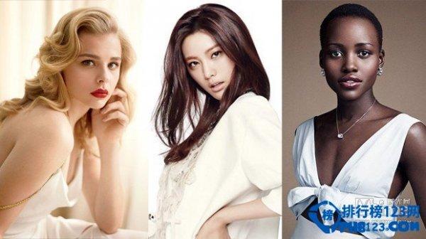 2014年度全球百大最美臉蛋排行榜