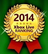 日本Xbox Live游戏排行榜