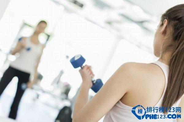 关于健身的十大误区