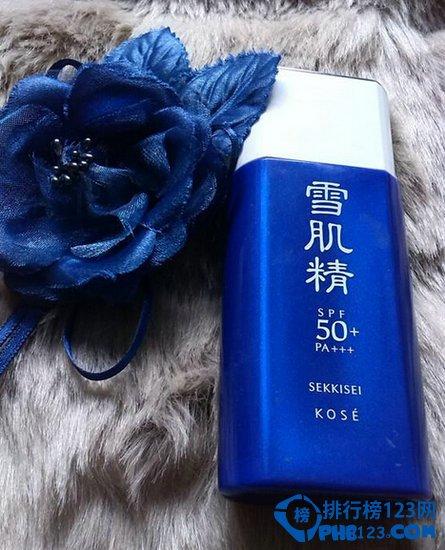2015全球护肤品十大排行榜