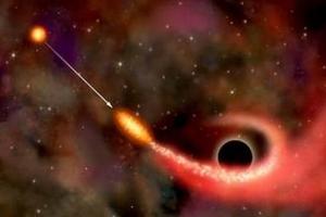 宇宙十大天文奇觀 黑洞撕裂恒星