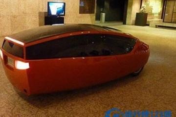 世界上第一辆3D打印汽车