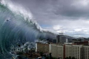 世界上最高的海嘯