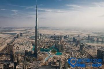 世界上最高的楼:828米哈利法塔
