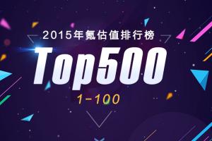 2015氪估值排行榜 互聯網創業公司估值排行榜