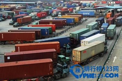 2015年全球十大集装箱港排名出炉