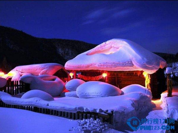 中国黑龙江省海林市长汀镇:中国最美雪乡