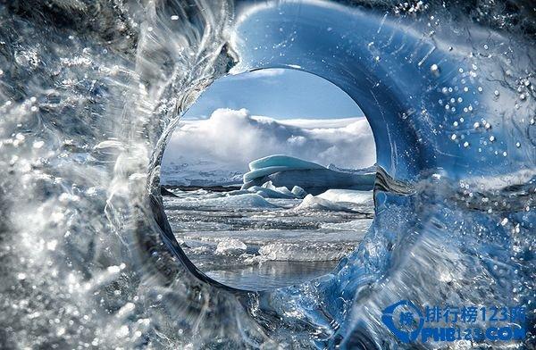 冰岛冰河湖:仿若星河的冰川湖