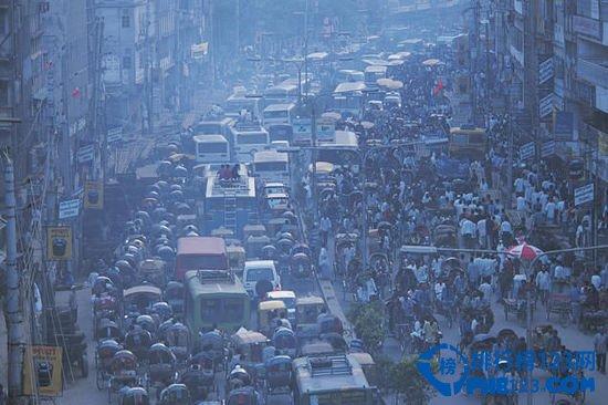 孟加拉国首都达卡