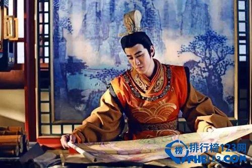 中国十大古装美男第九名:李治廷