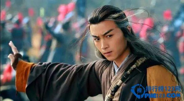 中国十大古装美男第七名:陈晓