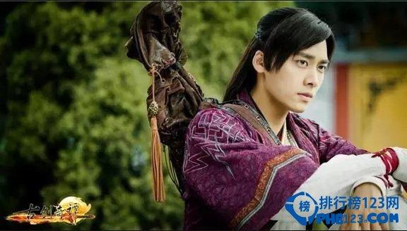 中国十大古装美男第六名:李易峰