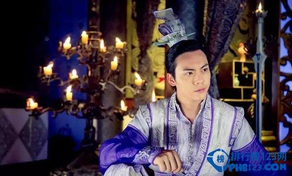 中国十大古装美男第四名:陈伟霆