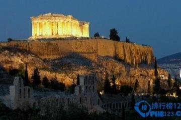 希腊雅典景点排名 雅典最美的十大旅游景点