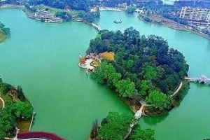 中國最大的城中湖—武漢東湖(33平方公里)