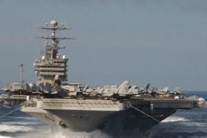 世界上最大的航空母舰——福特号