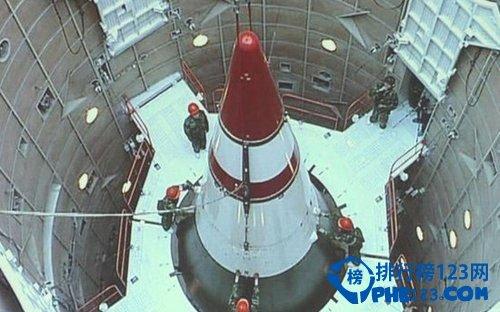 中国东风-5A洲际导弹