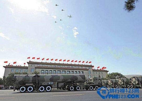 """中国""""东风-31A""""导弹"""