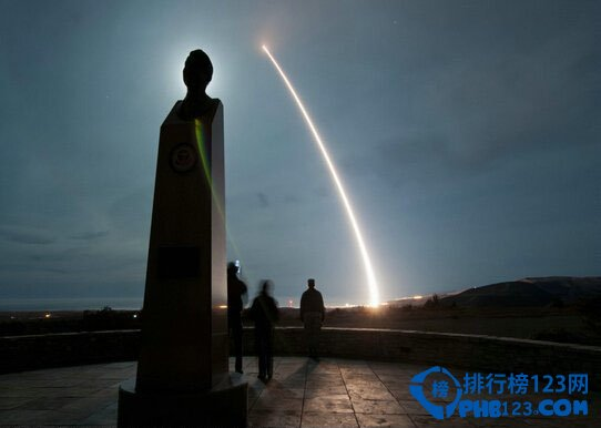 """美国""""民兵-3""""洲际导弹"""