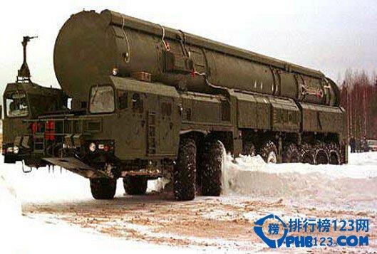俄罗斯SS-19弹道导弹
