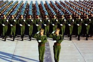 中國人民解放軍的十大作戰單位 最小是班最大是方面軍