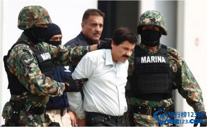 世界上最大贩毒集团 古兹曼成为世界上最大的毒枭