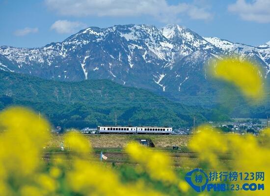 世界上最慢的火车——雪龟号一条线路走一个四季