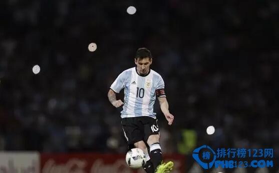 2016年最吸金的足球十大远动员排行榜!